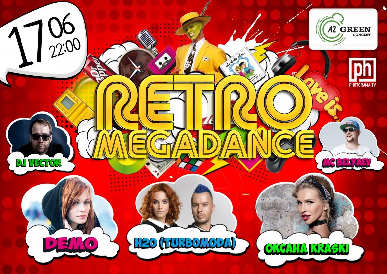 Группа Н2О на Retromegadance в клубе A2 Green Concert!